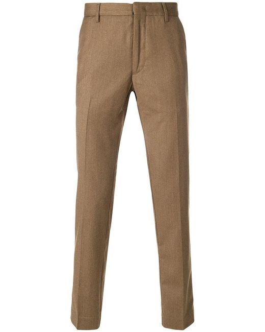 Pence - Brown Classic Chinos for Men - Lyst