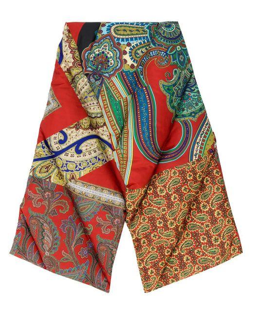 Etro パデッド スカーフ Multicolor