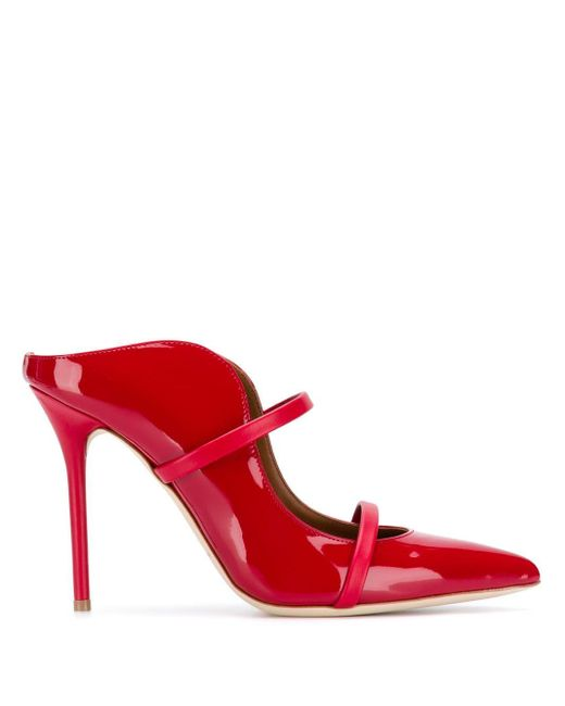 Malone Souliers Maureen ミュール Red