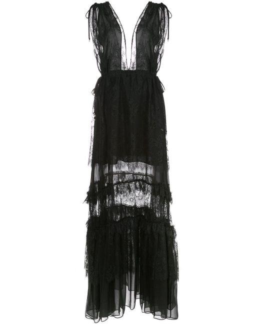 Alexis Umbria レースドレス Black