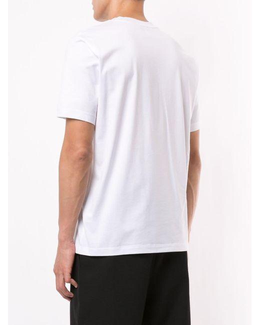 メンズ Calvin Klein ロゴ Tシャツ White