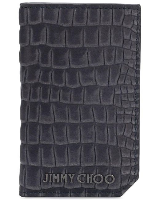 Jimmy Choo - Gray Clifford S Billfold Wallet for Men - Lyst