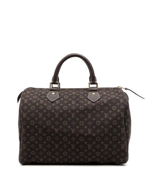 Louis Vuitton 2007 プレオウンド スピーディ 30 ハンドバッグ Black