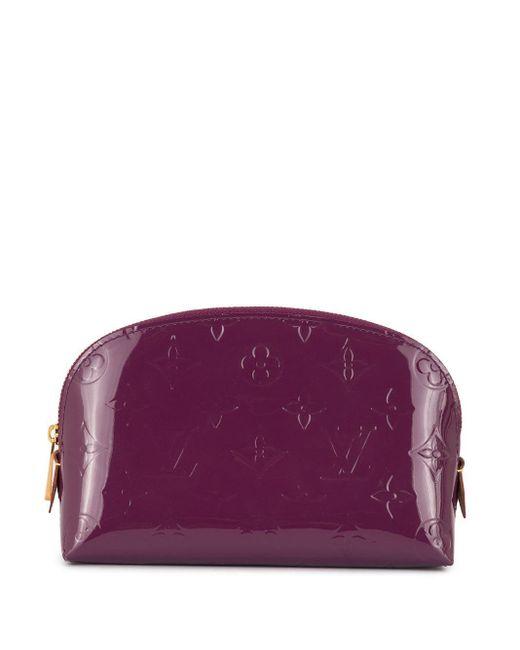 Louis Vuitton モノグラム コスメポーチ Purple