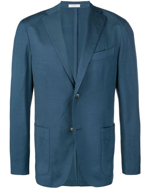 メンズ Boglioli フォーマル ジャケット Blue