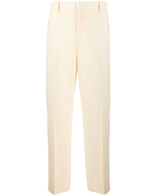 Erika Cavallini Semi Couture ハイライズ クロップドパンツ Yellow