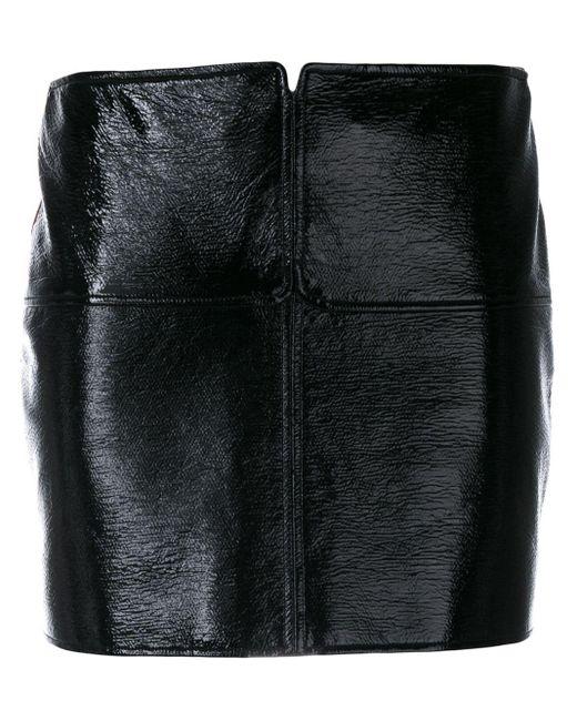 Courreges ミニスカート Black
