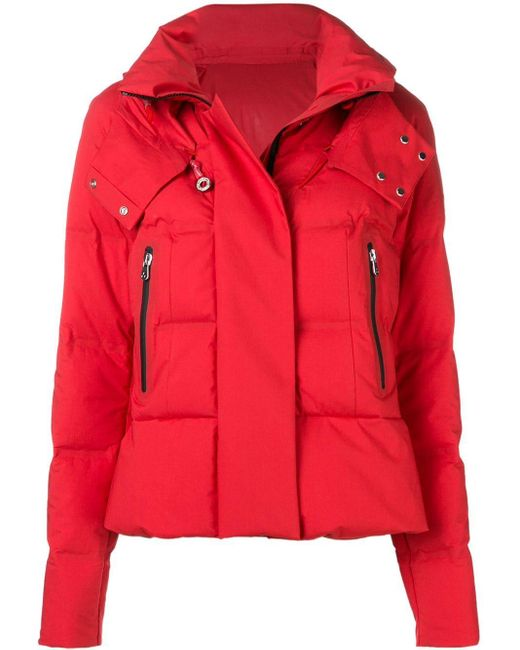 Peuterey - Red Short Puffer Jacket - Lyst
