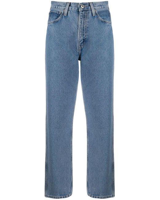 Levi's Blue Straight-leg Jeans