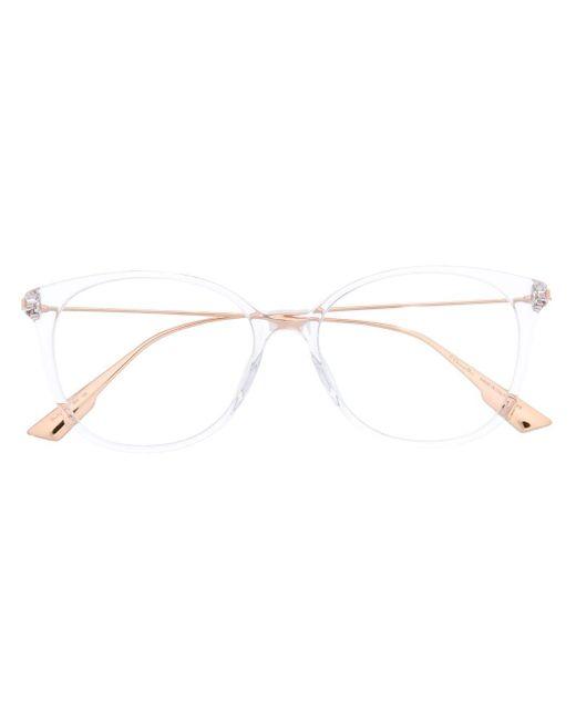 Dior バイカラー 眼鏡フレーム White