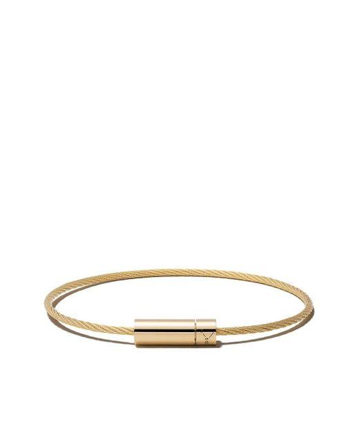 Le Gramme Cable Bracelet Le 11 Grammes ブレスレット 18kイエローゴールド Metallic