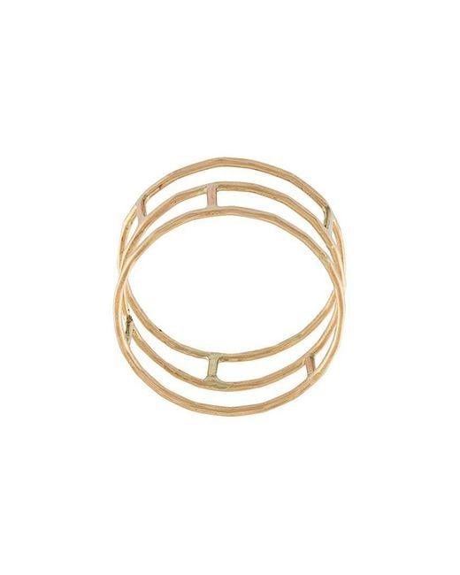 Melissa Joy Manning - Multicolor Layered Brick Ring - Lyst