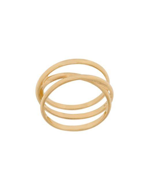Emilie Wrap Ring Maria Black, цвет: Metallic