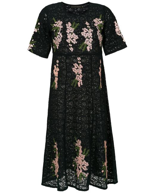 Outlet Clearance Store Choice Cheap Price Luena long knit dress - Black Cecilia Prado Cheap Sale Wide Range Of Sale Release Dates Cheap Sale Best Store To Get 8oDcJF5H5