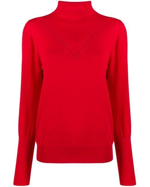 Victoria, Victoria Beckham Peek-a-boo セーター Red