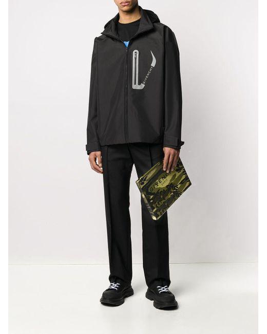 メンズ Givenchy カモフラージュ クラッチバッグ Multicolor