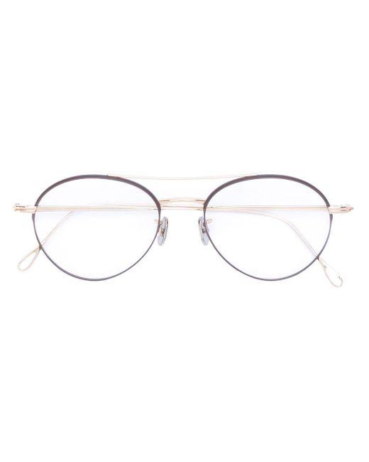 Круглые Очки Eyevan 7285, цвет: Metallic