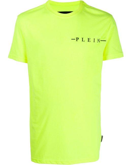 メンズ Philipp Plein ロゴ Tシャツ Green