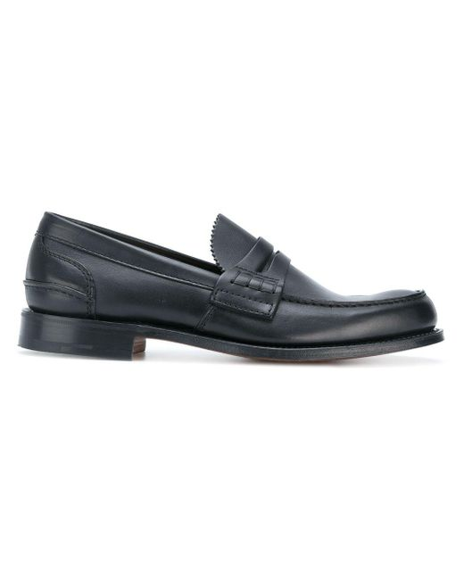 Church's Black Classic Loafers for men