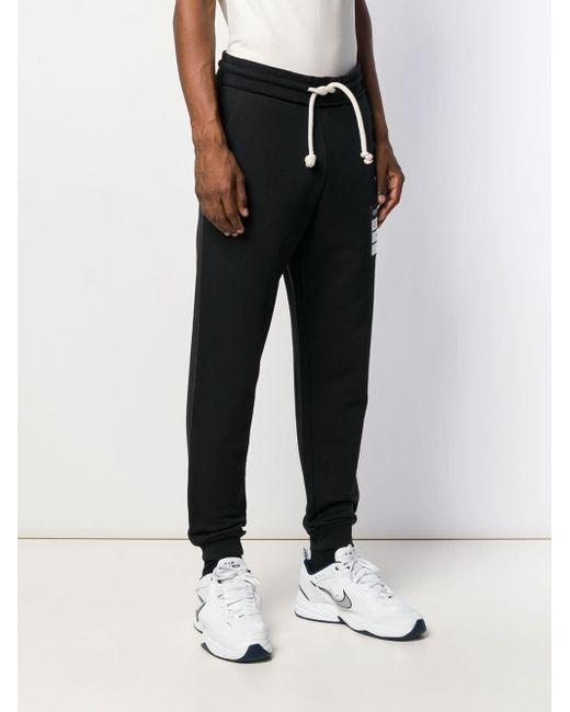 Pantalone con logo di Maison Margiela in Black da Uomo