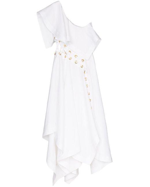 Alexander McQueen アイレット ドレス White