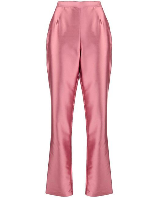 L'Autre Chose ストレート パンツ Pink