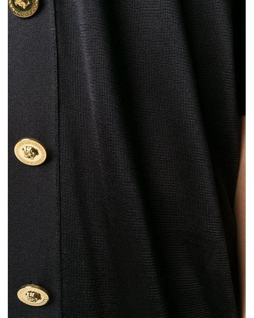 Кардиган Оверсайз С Декором Medusa Versace, цвет: Black