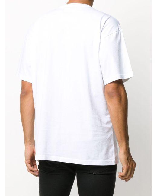 メンズ Moschino テディベア Tシャツ White