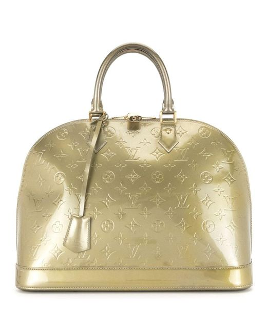Сумка Alma Pre-owned С Монограммой Louis Vuitton, цвет: Metallic