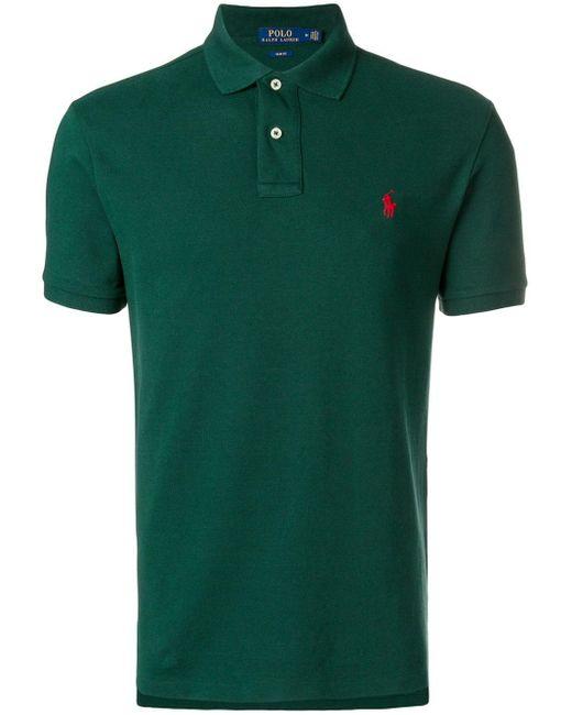 メンズ Polo Ralph Lauren クラシック ポロシャツ Green