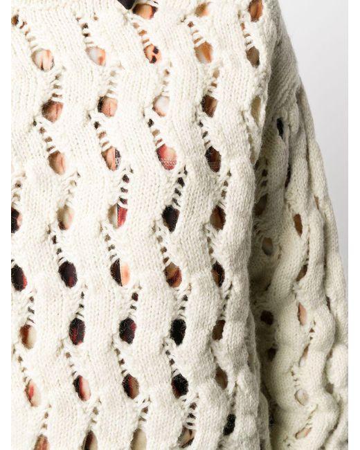 Свитер Фактурной Вязки С Вырезами Calvin Klein, цвет: Multicolor