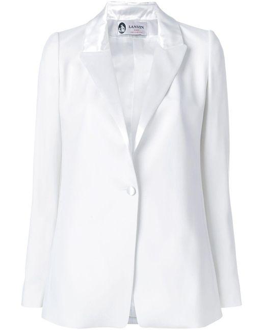 Lanvin シングルジャケット White
