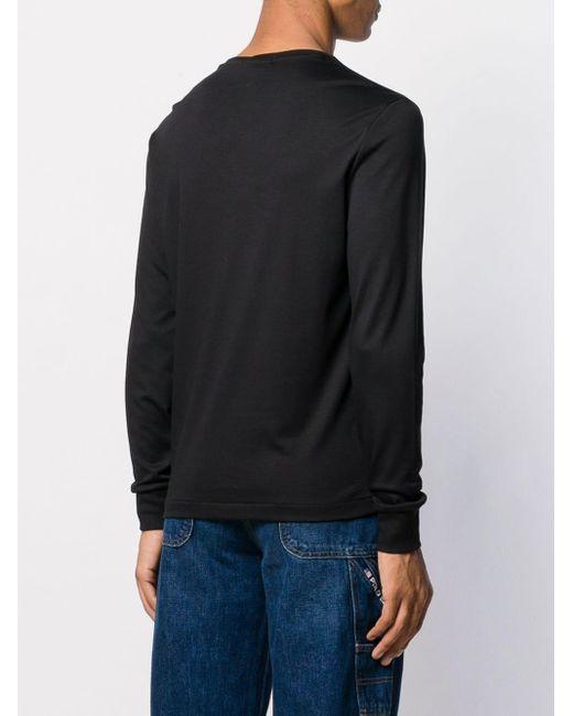 メンズ Polo Ralph Lauren ロゴ セーター Black