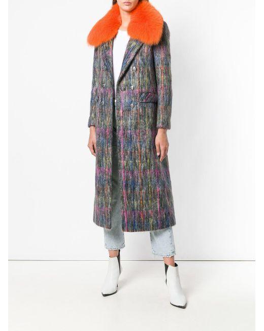 Giada Benincasa ファートリム コート Multicolor