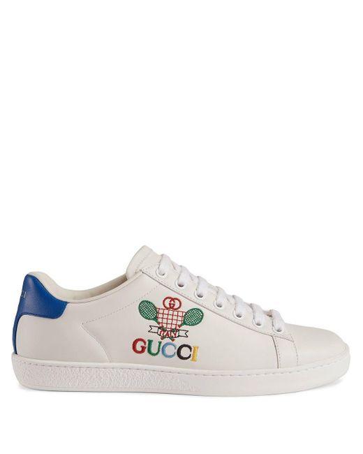 Gucci テニス エース スニーカー White