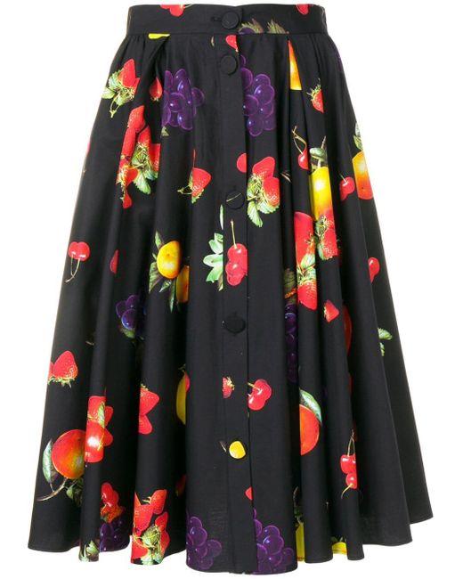 MSGM プリント スカート Multicolor