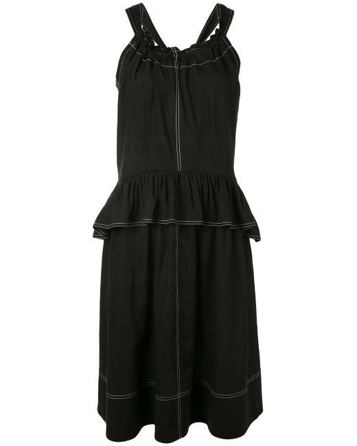 Goen.J ペンシル ドレス Black