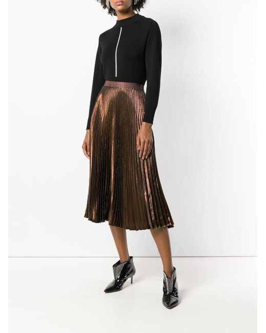 Christopher Kane プリーツスカート Multicolor