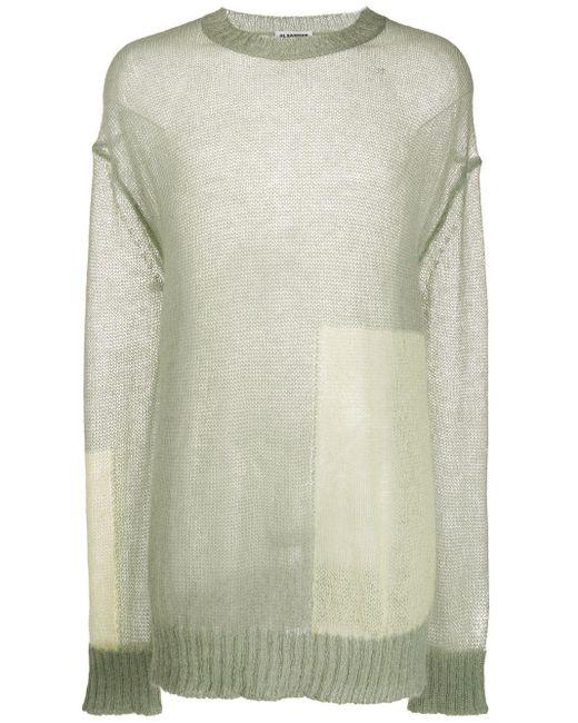 メンズ Jil Sander バイカラー セーター Multicolor