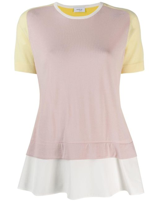 Akris Punto レイヤード Tシャツ Multicolor