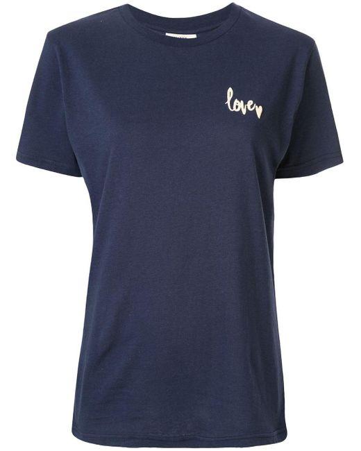 Baum und Pferdgarten Jolee Love Tシャツ Blue