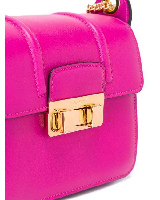 Lanvin Jiji 斜めがけバッグ Pink