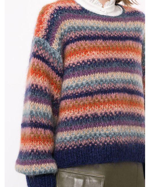 Полосатый Dolce С Окантовкой В Рубчик Mes Demoiselles, цвет: Multicolor
