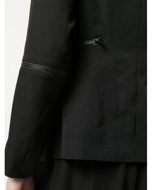 Y's Yohji Yamamoto ジップディテール ジャケット Black
