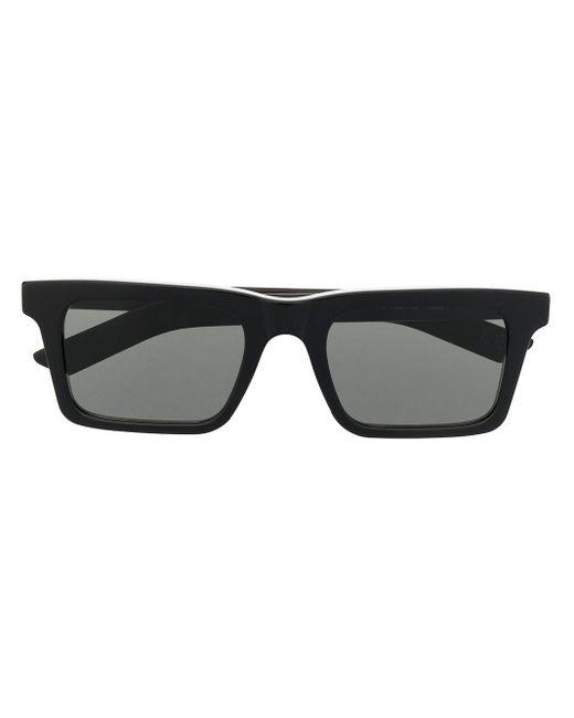 Retrosuperfuture Black Sonnenbrille mit eckigem Gestell
