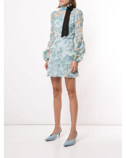 Macgraw Corsage ドレス Blue
