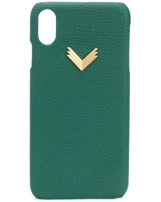 Manokhi X Velante Iphone Xs Max ケース Green