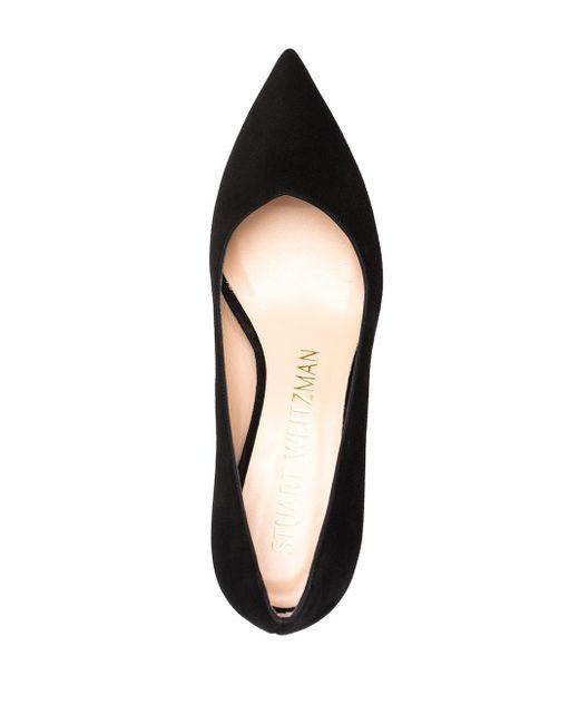 Туфли-лодочки Anny 70 Stuart Weitzman, цвет: Black