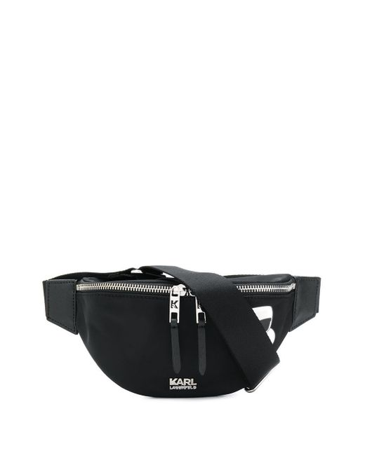 Karl Lagerfeld K/ikonik ベルトバッグ Black