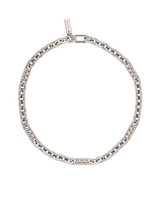 Prada Klassische Halskette in Metallic für Herren